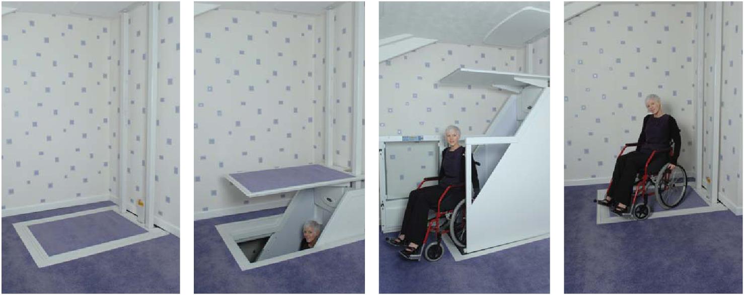 Fahrstuhl Hauslift Rollstuhl Lift Hebeb 220 Hne Plattformlift